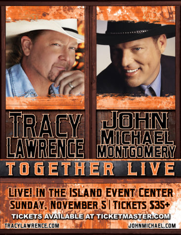 Tracy Lawrence with special guest John Michael Montgomery