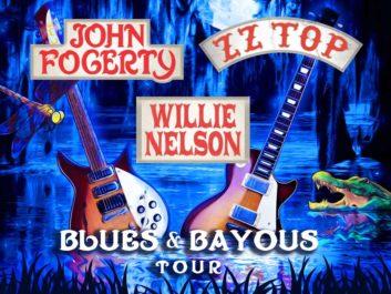 JOHN FOGERTY / ZZ TOP / WILLIE NELSON