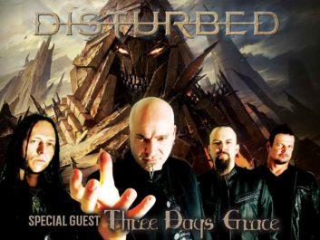 Disturbed wsg Three Days Grace