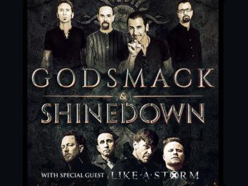 Godsmack & Shinedown WSG Like A Storm