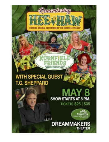 Remembering Hee-Haw: Kornfield and Friends wsg TG Sheppard – POSTPONED rescheduled date announced soon!