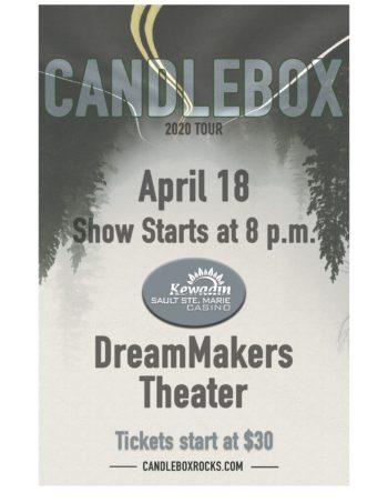 Candlebox – POSTPONED rescheduled date announced soon!
