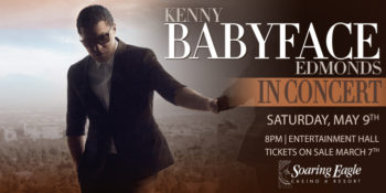 "Kenny ""Babyface"" Edmonds – POSTPONED"