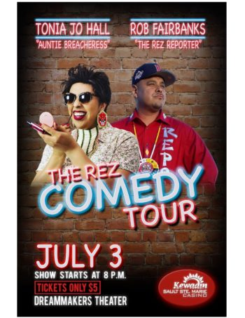 The Rez Comedy Tour – Tonia Jo Hall & Rob Fairbanks