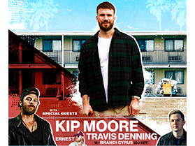 Sam Hunt with special guests Kip Moore, Travis Denning, Ernest & DJ Brandi Cyrus