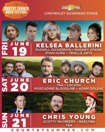 Kelsea Ballerini with special guests Russel Dickerson, Rodney Atkins, Ryan Hurd and Tenille Arts